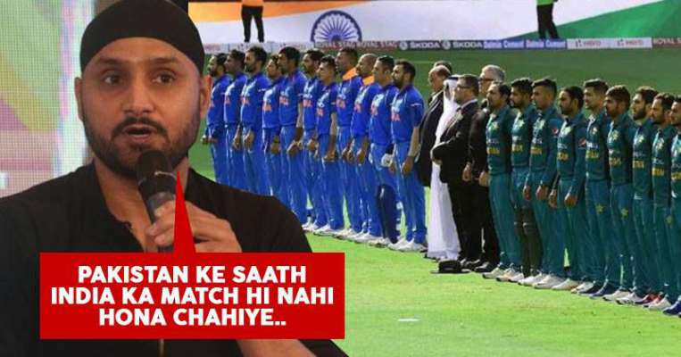 No cricket with Pakistan: Harbhajan