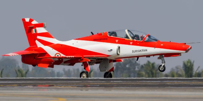 Two IAF craft clash, one pilot dies