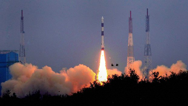 ISRO launched Earth observation satellite