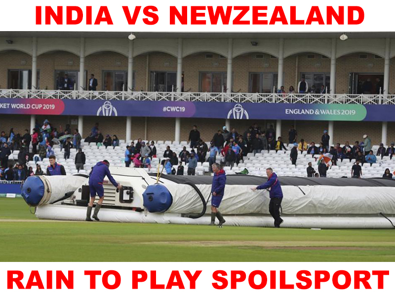Rain threat loom large over India-Newzealand tie