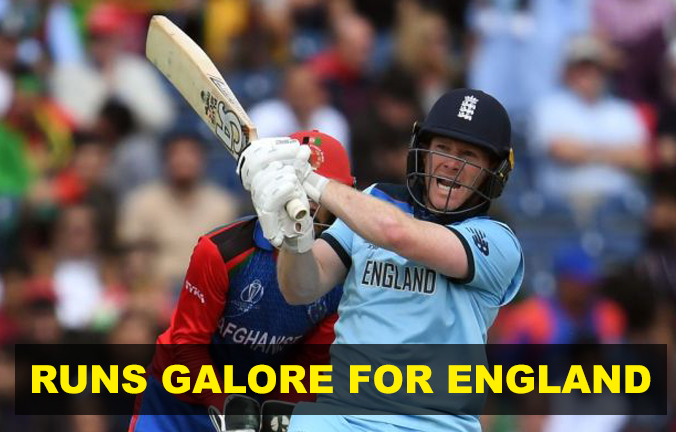 ICC World Cup: Records tumble as England destroy Afghanisthan