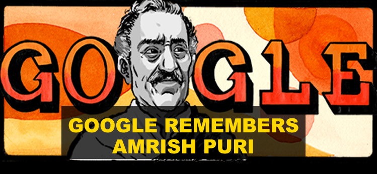 Google honours the Legendary Villain Amrish Puri on his birth anniversary
