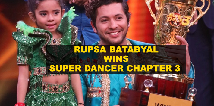 Kolkata's six-year-old Rupsa Batabyal wins Super Dancer Chapter 3