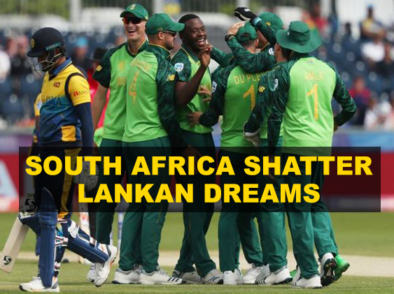 Clinical South Africa demolish Sri Lanka