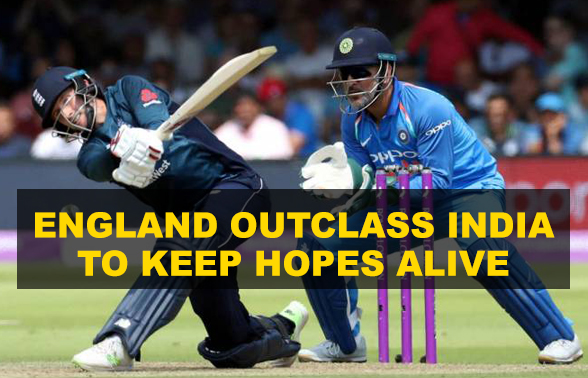 England outclass India to stay alive