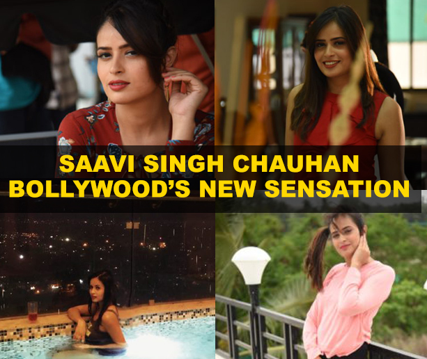 Bollywood's new sensation Saavi Singh Chauhan looks to make it big