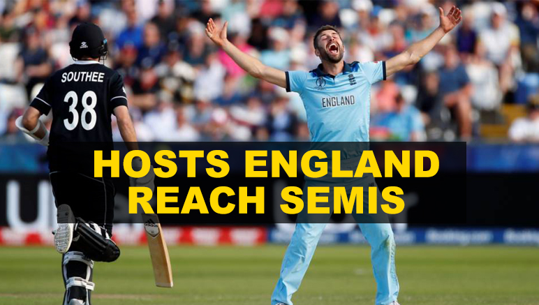 England outclass Kiwis to reach Semis