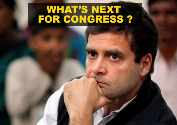 What's next for Congress after Rahul's resignation ?