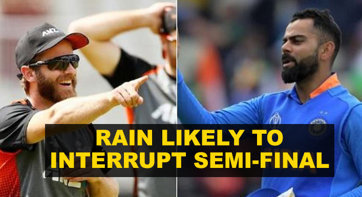 Rain may play spoilsport during Ind-Nz tie
