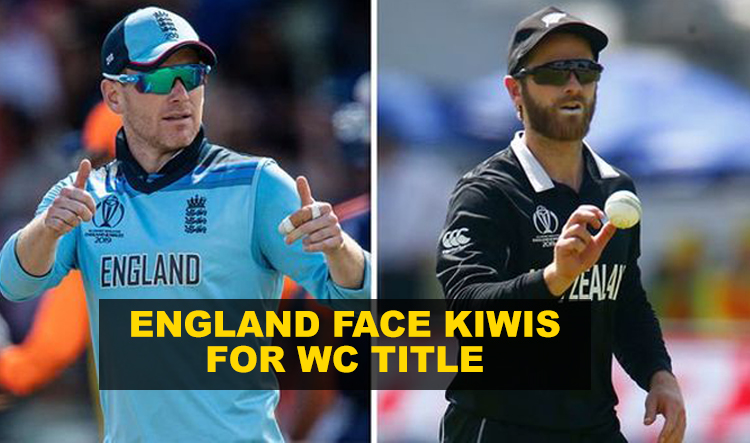 England to face New Zealand for the World Cup title