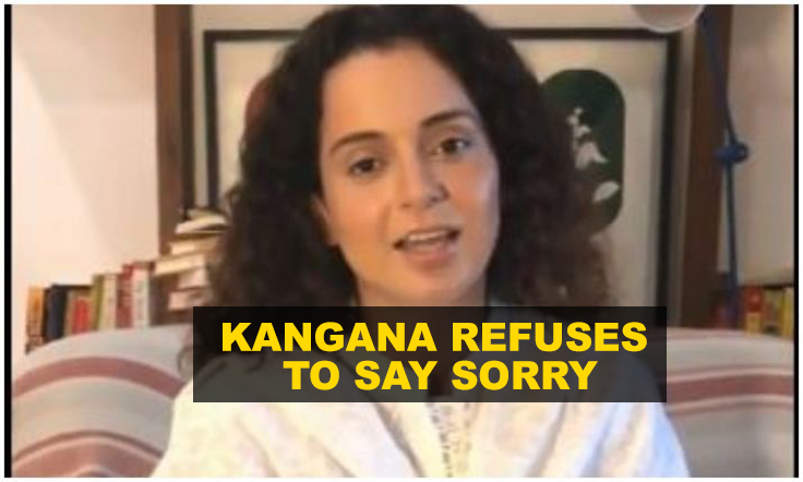 Kangana Ranaut refuses to say sorry after fighting with journalist