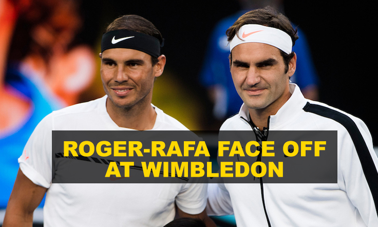 Roger-Rafa face off at Wimbledon