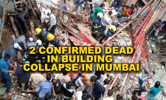 Mumbai building collapse: NDRF team at the site, 2 people confirmed dead