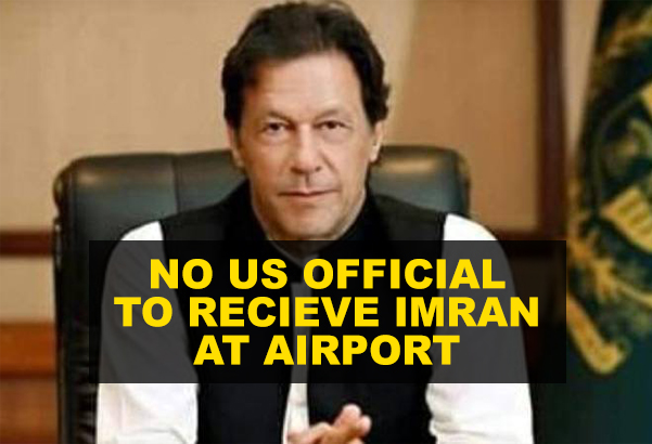 No US Official to Receive Imran Khan at Airport