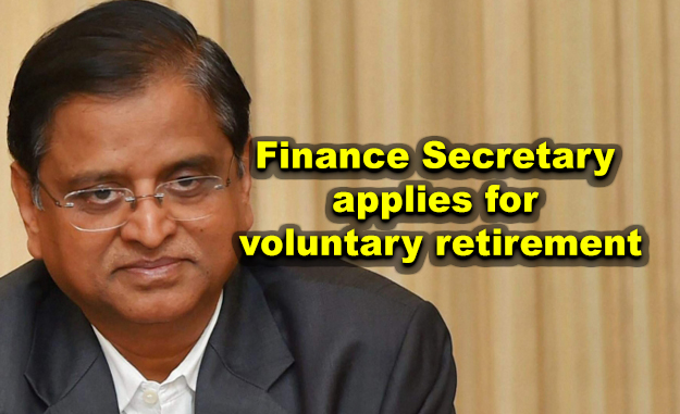 Finance Secretary applies for voluntary retirement after being shifted to Power Ministry