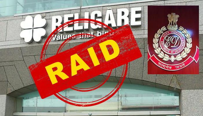 ED raids multiple locations linked to ex-Religare promoters