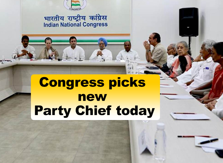 Congress picks new Party Chief today