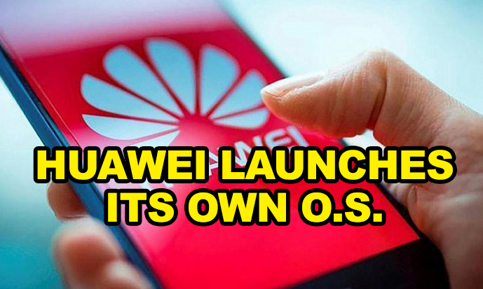 Huawei launches its own operating system
