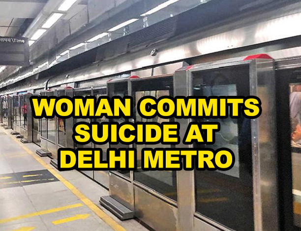 Woman dies after she jumps in front of a Metro train