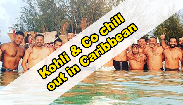 Virat Kohli and Co chill out before the first Test
