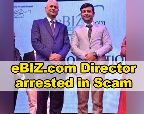 eBIZ.com Director arrested in 5000 crore Scam