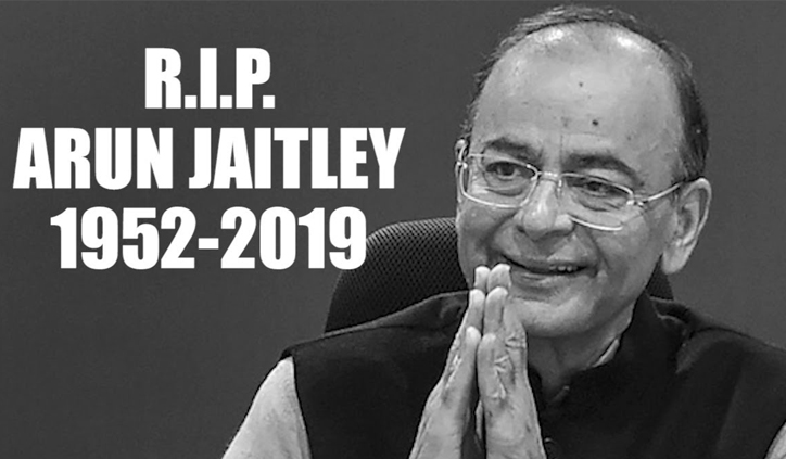 Nation mourns death of BJP stalwart Arun Jaitley