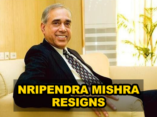 Nripendra Mishra resigns as Principal Secretary to PM, PK Sinha appointed as OSD in PMO