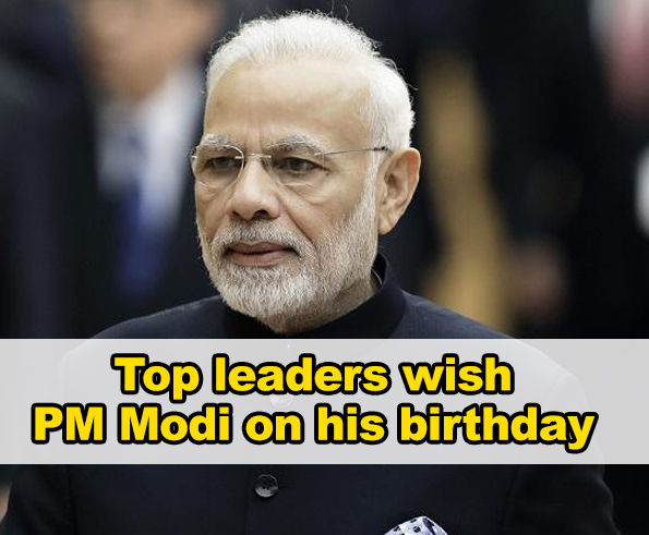 Birthday wishes pour in for PM Modi as he turns 69 today
