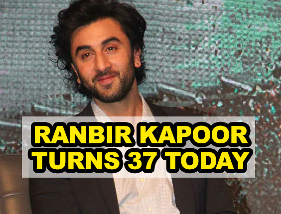 Bollywood heartthrob Ranbir Kapoor turns 37
