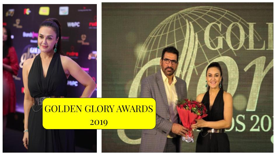 B-Town celebs grace the Golden Glory Awards