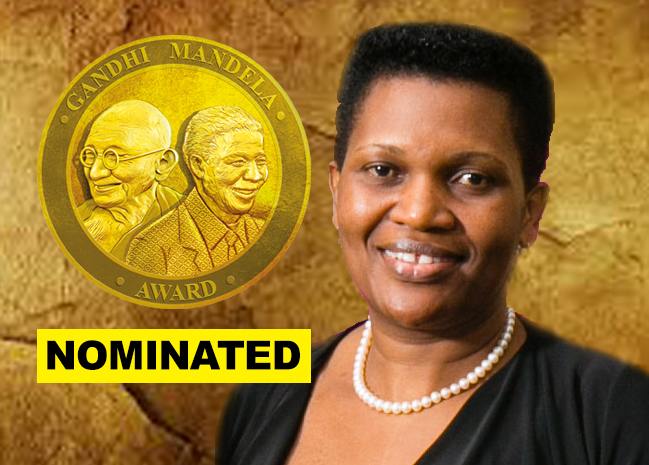 'First Lady of Burundi' nominated for Gandhi Mandela Award 2019