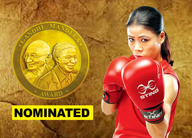 Mary Kom nominated for Gandhi Mandela Award 2019