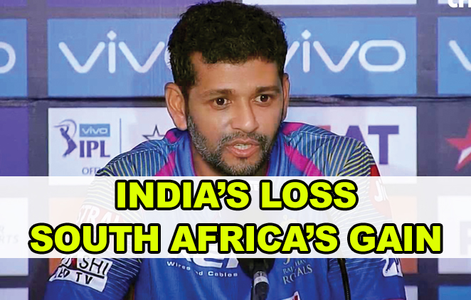 India's loss,  South Africa's gain