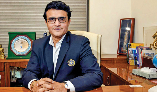 Sourav begins his second innings as BCCI chief