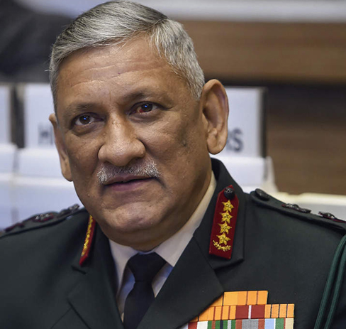 General Bipin Rawat named country's first chief of Defence Staff