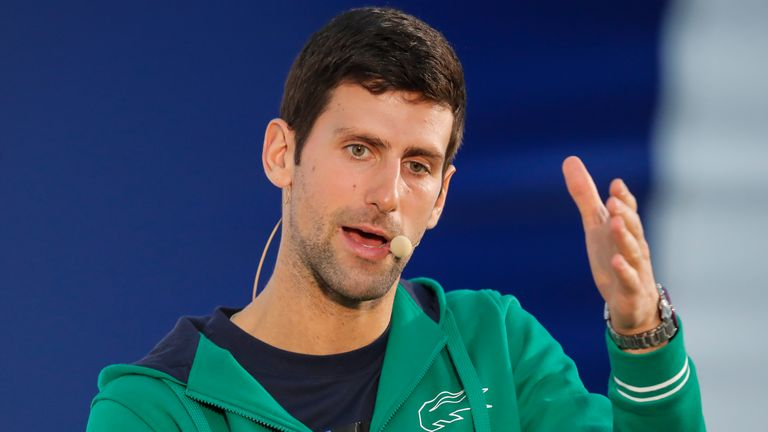 World No.1 Tennis Player Novak Djokovic tested positive for Coronavirus