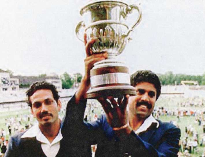 June 25, 1983: Kapil Dev's India Upset Mighty West Indies to Win Their First World Cup