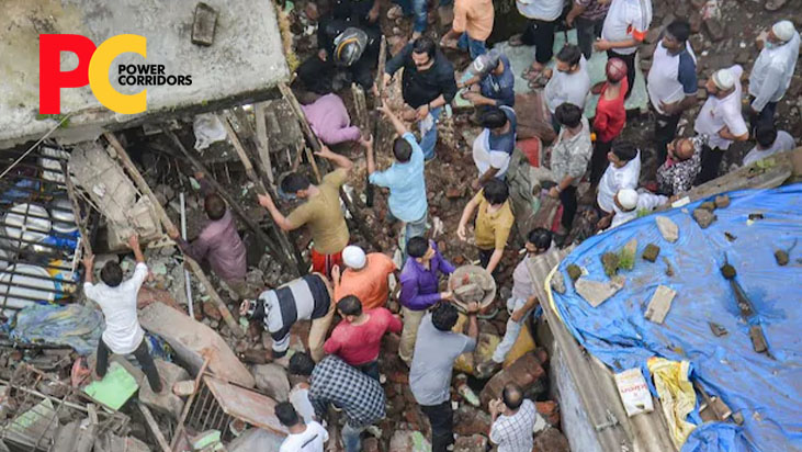 Ten people die as decades-old building collapses in Bhiwandi
