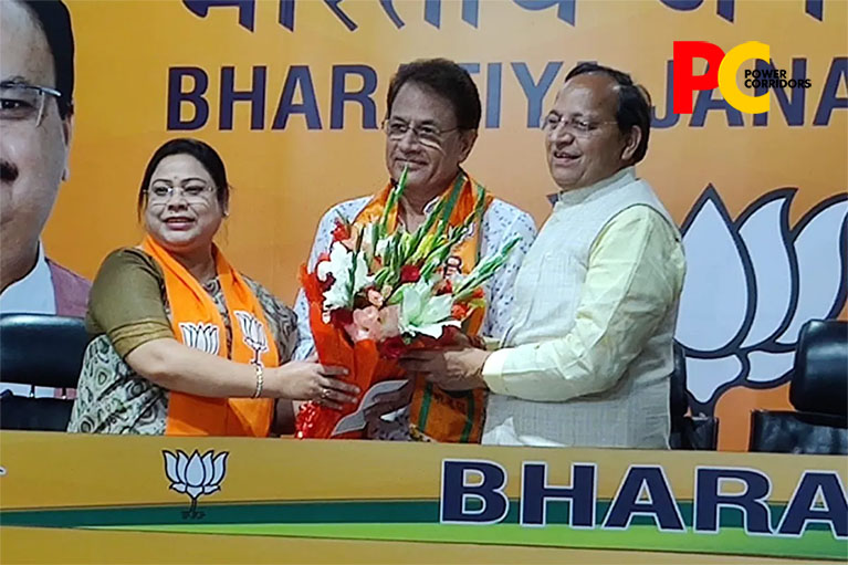 'Lord Ram' Arun Govil joins BJP