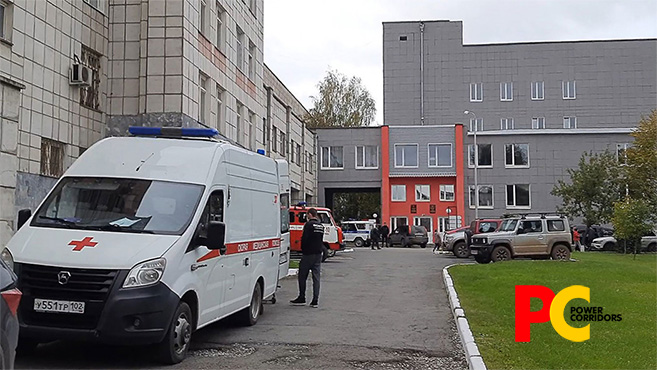 Eight killed after shooter open fires at Russia University