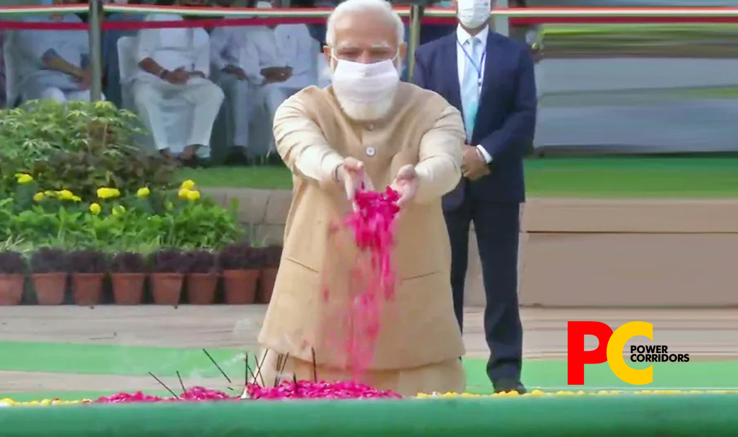 PM Modi pays tributes to Gandhi and Shastri on their Birth Anniversary